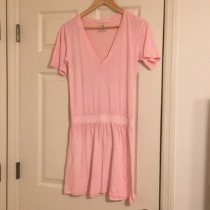 • VS PINK • Tee shirt dress size small